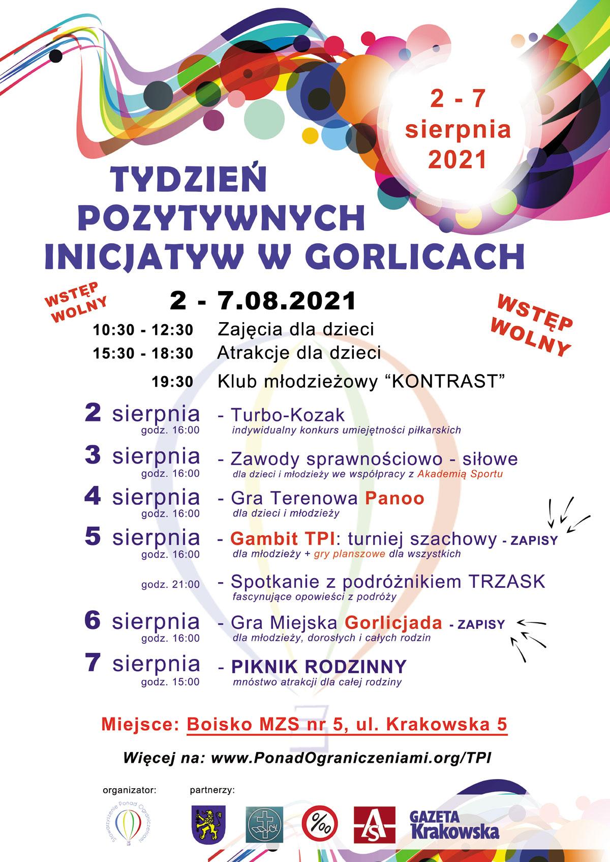Tydzień pozytywnych inicjatyw 2021 Gorlice